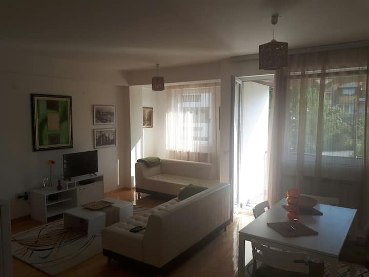 Comfortable and Airy Duplex Apartment