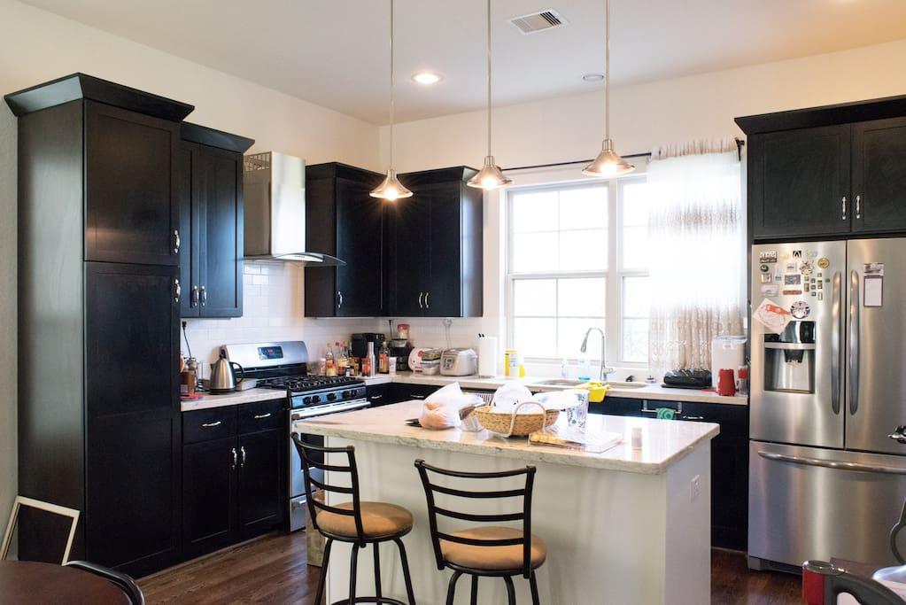 Kitchen on the 2nd floor