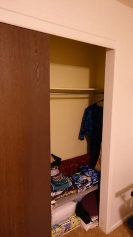 Closet for hanging Clothes
