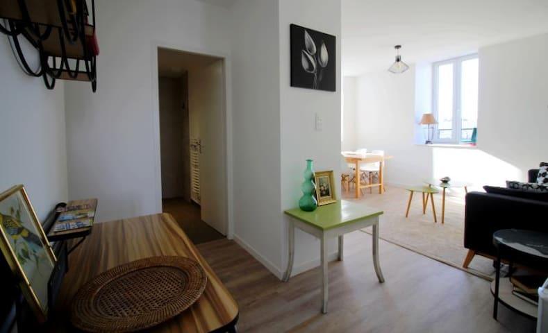 Agréable T2 Centre Plouharnel proche mer - 42 m²