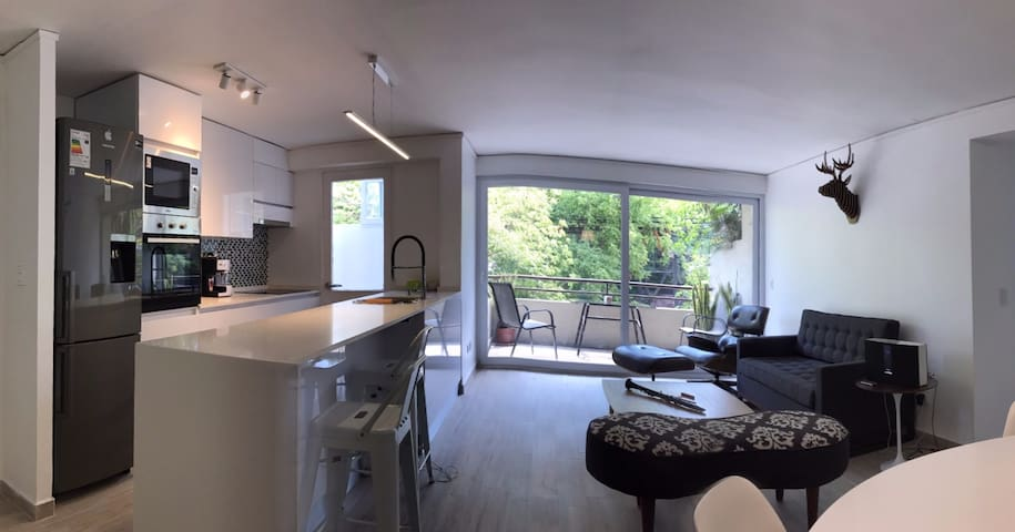 LINDO, COMODO Y COMPLETO DEPTO EN LUIS PASTEUR - Vitacura - Apartmen