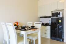 Dining Table with Kitchenette