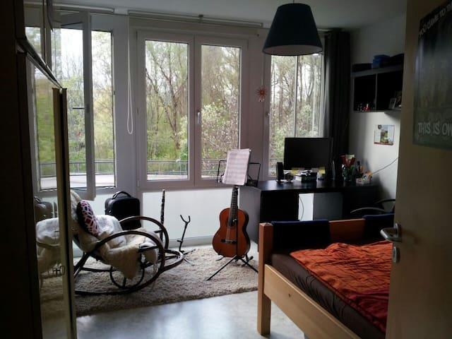 Helles, gemütliches WG-Zimmer in Freising - Freising - Apartment
