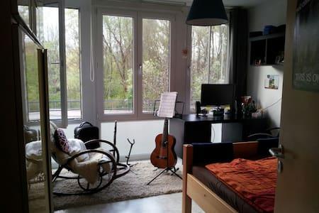 Helles, gemütliches WG-Zimmer in Freising - Freising - Wohnung
