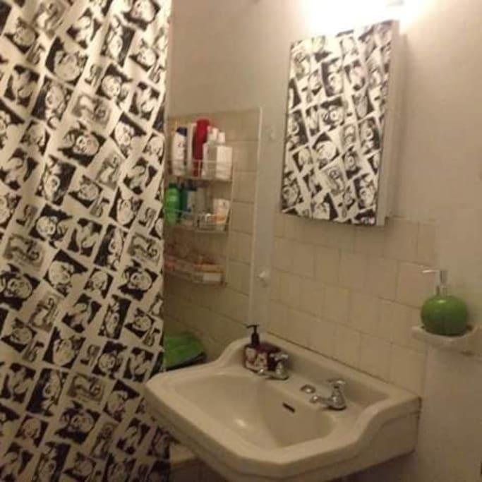 baño se higieniza todos los días en tu estadía