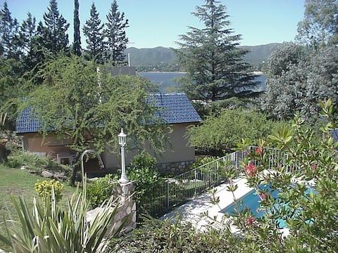 Vista al lago San Roque
