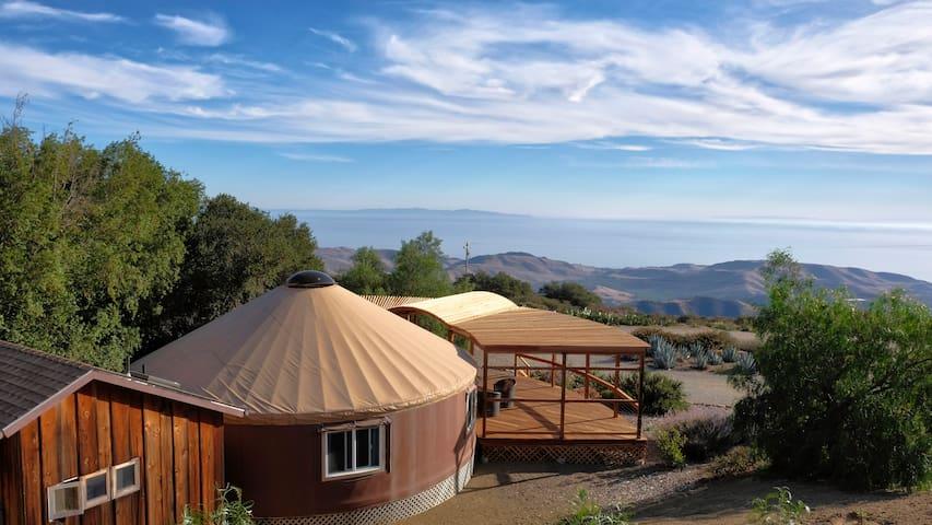 Luxury Yurt & Panoramic Ocean View