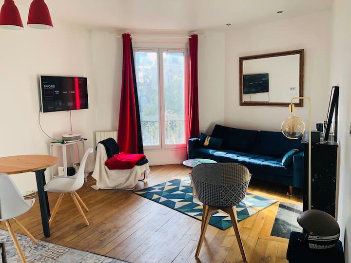 Bel appartement 2 pièces Basilique de Saint-Denis