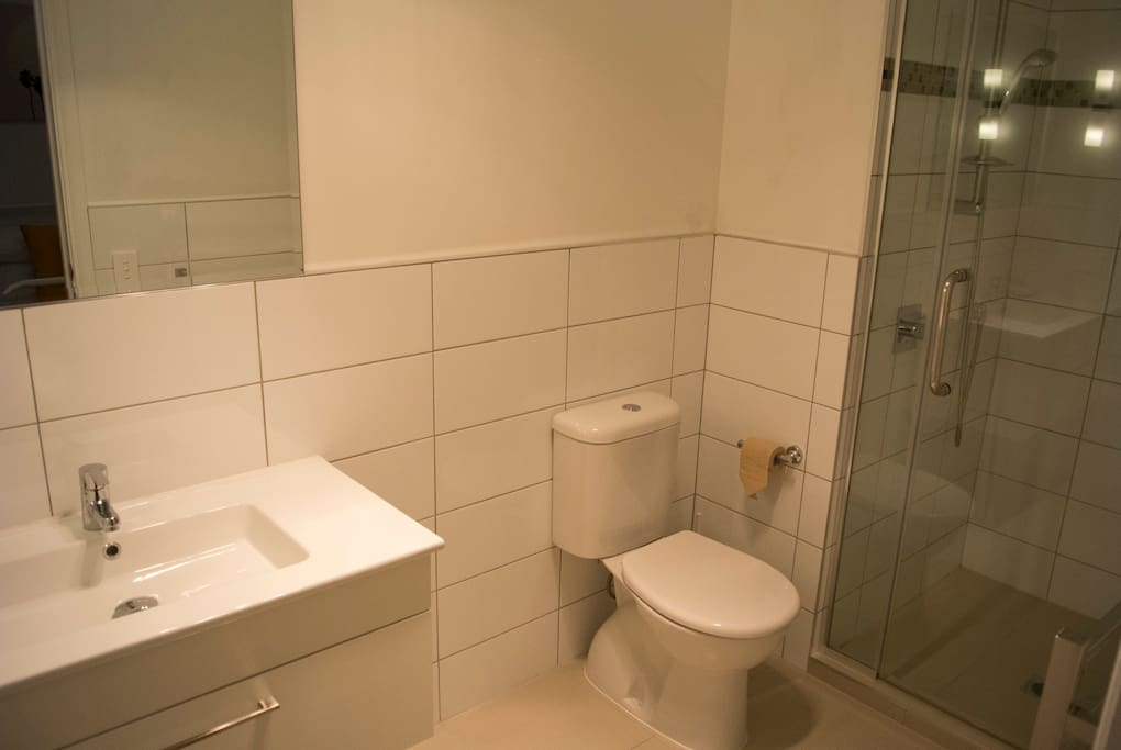 This is the bathroom which is connected with the bedroom.
