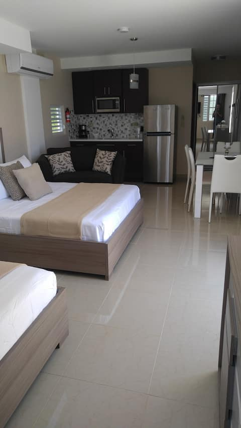 Modern Suite with a Bay view for 4 guests