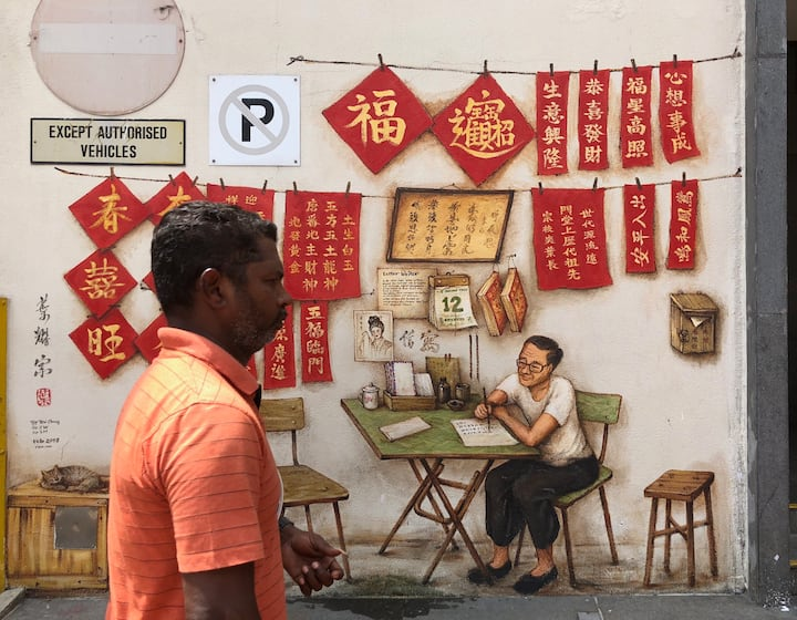 Meet the letter writers of Chinatown