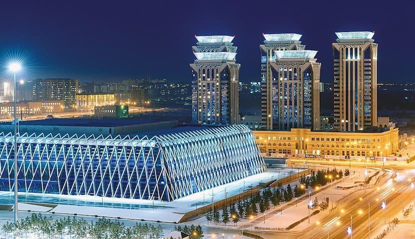 Квартира на центральной площади - Astana