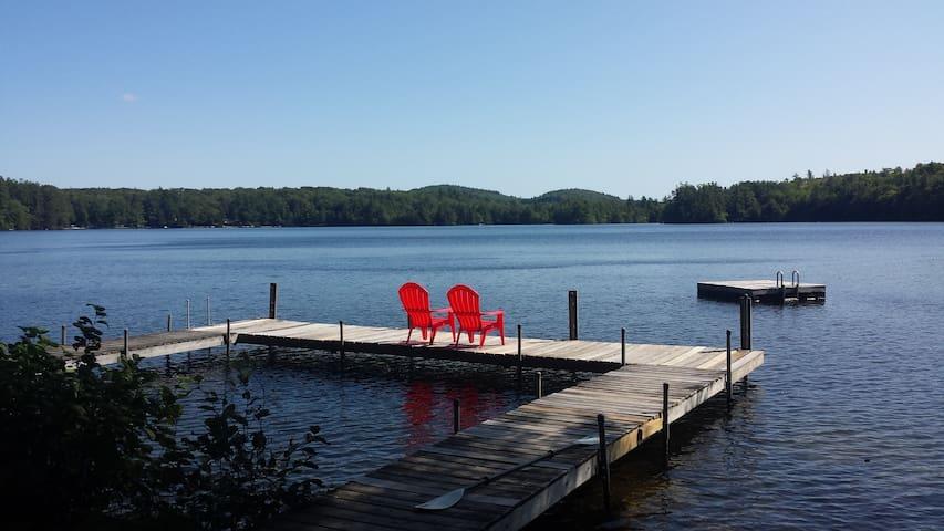 Charming Waterfront Chalet on Pristine Lake