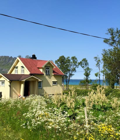 Charming house w/ amazing view of the midnight sun