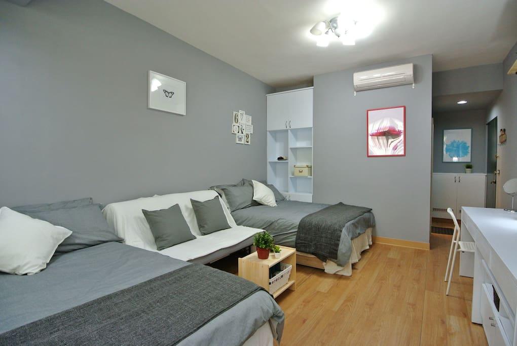 Max accommodation 6 people
