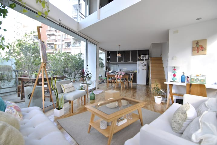 Amazing loft - Oasis in Palermo