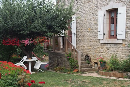 Chambre calme au cœur de la campagne Bourguignnone