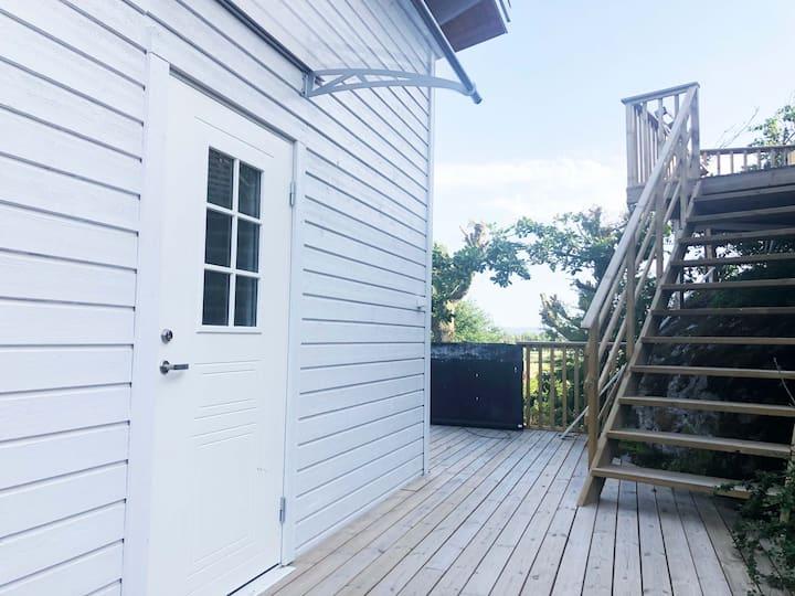 Nybyggt lägenhet med uteplats i Uddevalla.
