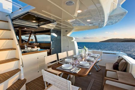 Yacht FERRETTI630 Three bed room - Singapour