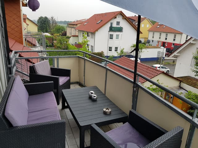 2 Room Flat with 2 Balcony for exclusive use
