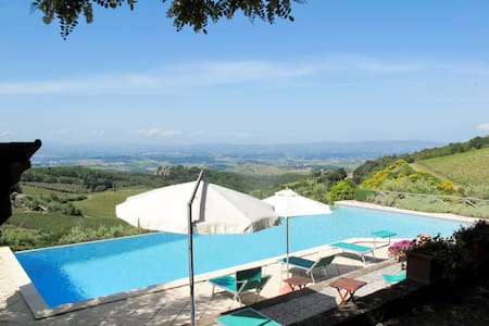 Apartment Podere Cellole for 2 persons