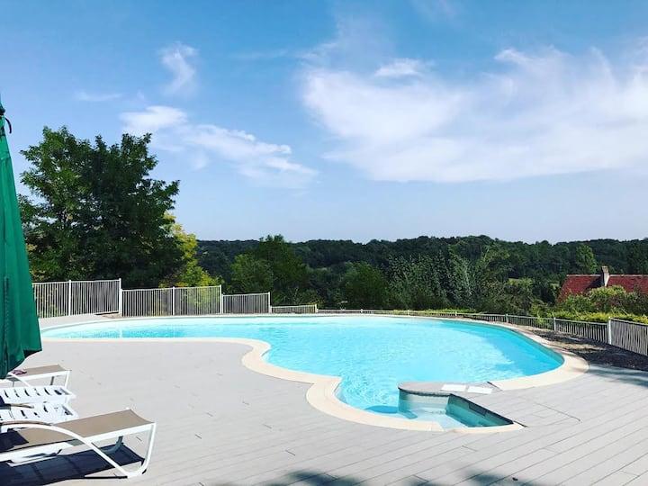 Domaine de l'Espérit pour 12 pers. avec piscine