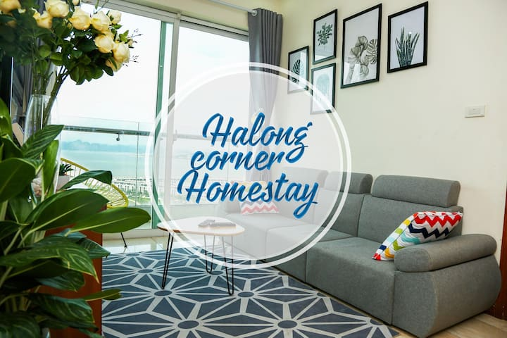 2BR, Sea view, Closest place to Halong bay Cruise