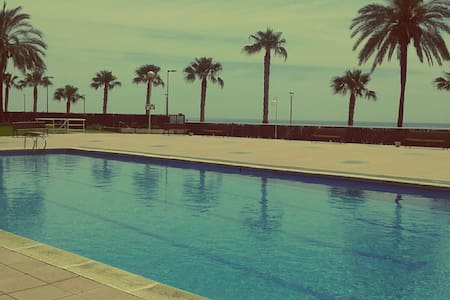 Cozy beach apartment at seafront - Torredembarra - 公寓