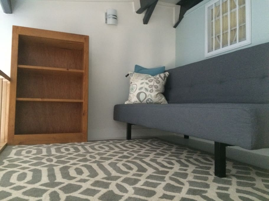 The loft with couch