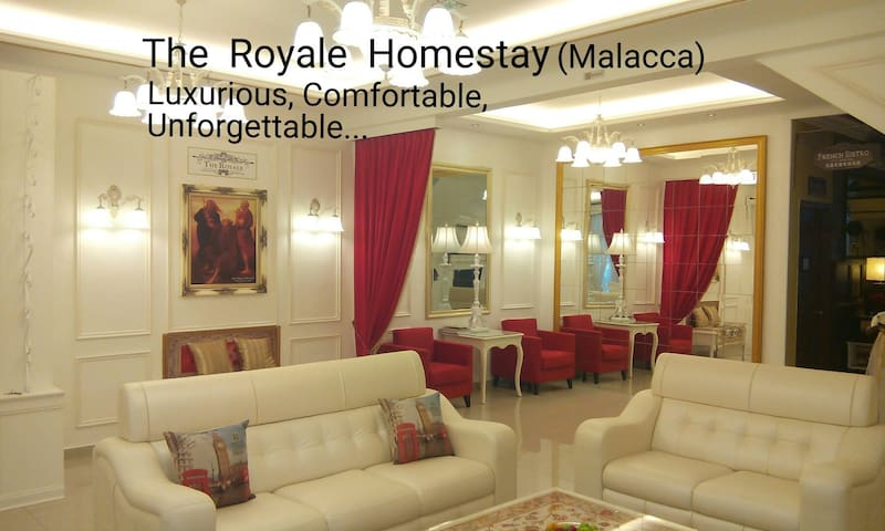 The Royale Homestay Malacca - Durian Tunggal - Hus