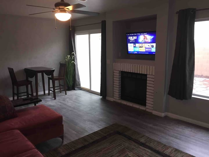 Private 1bed apartment -extended stay