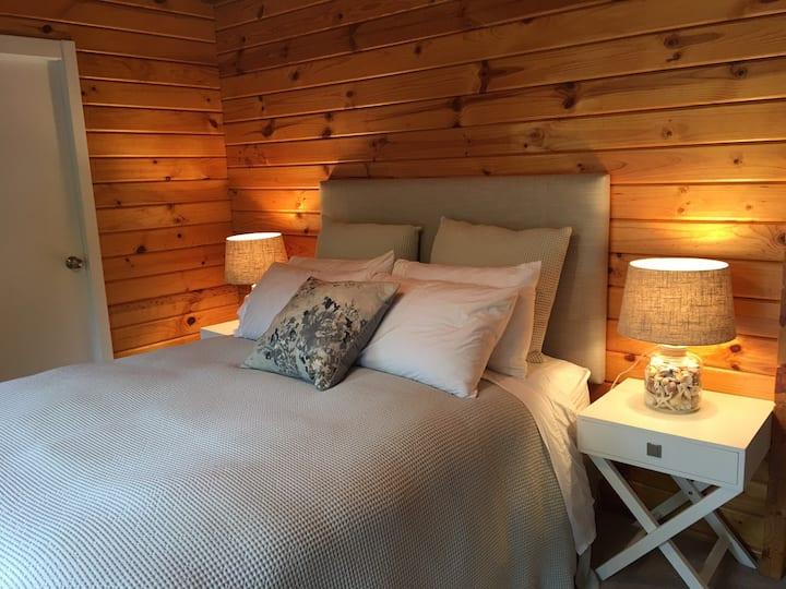 Scandinavian Luxury Lodge.