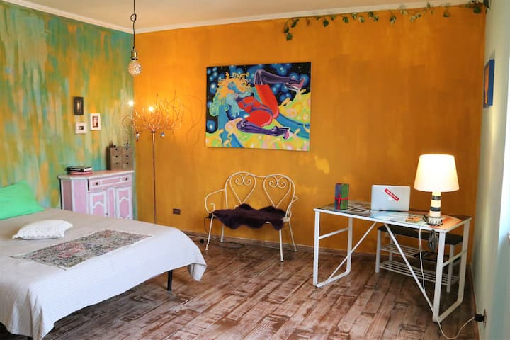art penthouse&terrace 'nuvoletta' in pigneto-roma