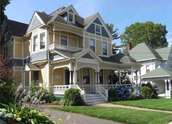 Queen Anne Victorian with Beautiful Garden Views