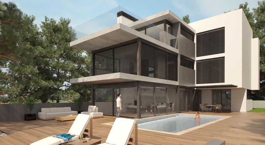Villa moderne avec service de ménage et cuisine