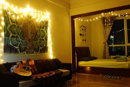 Studio near center + Free ROOFTOP pool + kitchen - Ho Chi Minh City - Apartment