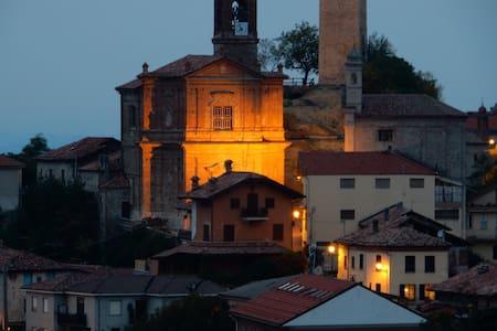 Amongst Piedmonte's rolling hills - Rocchetta Palafea