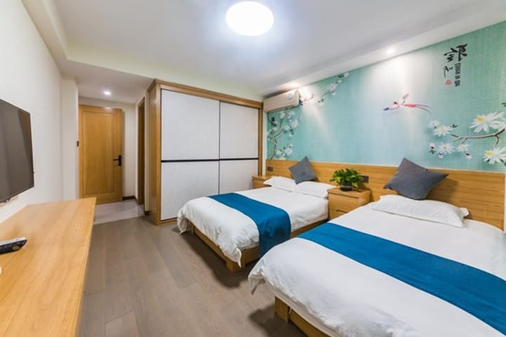 伊间丨近普陀山机场码头丨阳光家庭房6