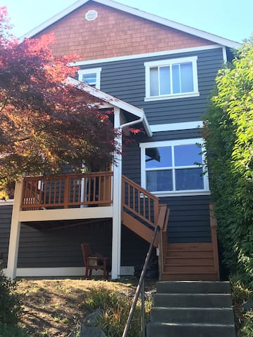 Big home in W. Seattle 15 minutes from downtown