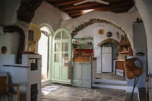 Front entrance into the kitchen