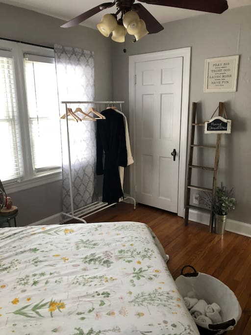 Clothes Hanger and Towels Are Available