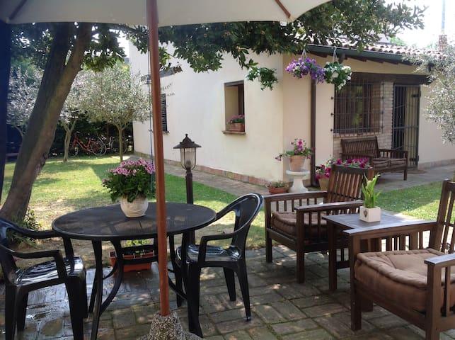 Ravenna cottage indipendente garden - Ravenna - Apartment