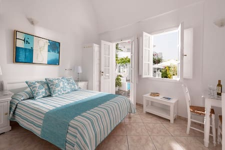 Double Room with Garden View - Imerovigli