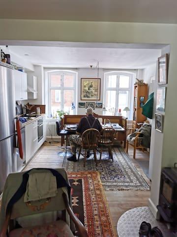 Hyggelig lille lejlighed i Århus midtby