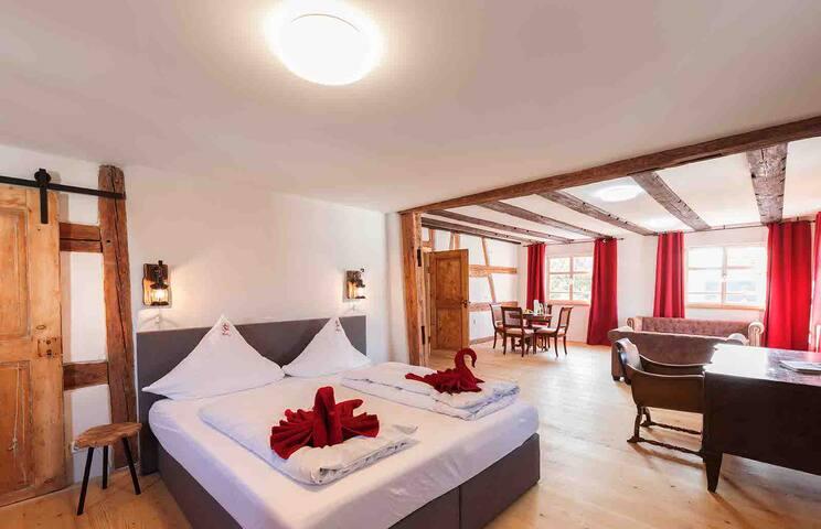 Hotel & Restaurant Storchen (Uhldingen-Mühlhofen), 3-Raum-Appartement