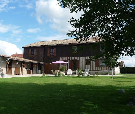 B&B Les Aneries, aux portes de la Champagne - Braux-Saint-Remy - Domek gościnny