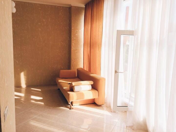 Новая квартира у моря на Каролино-бугазе в Затоке