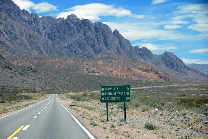 Camino Alta Montaña