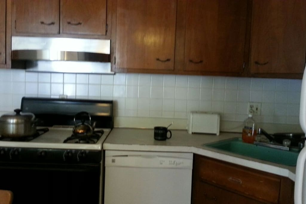 You are welcome to use kitchen for light cooking