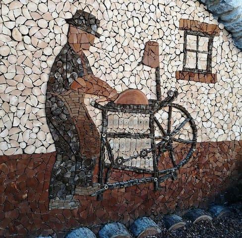 Il Moleta camera in casa contadina borgo di Rango